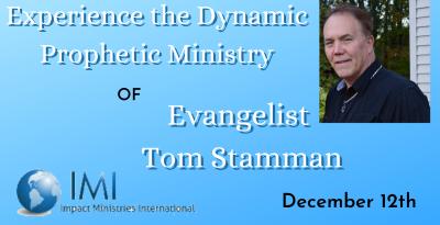 Tom Stamman Announcement